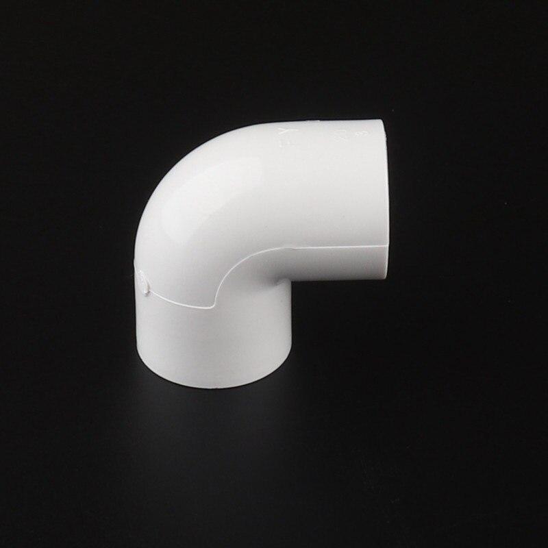 Codo de tubo 30 Uds 20mm 90 grados conector de tubo de PVC para reparación de tubo de PVC suministro de agua irrigación Circulación de acuario