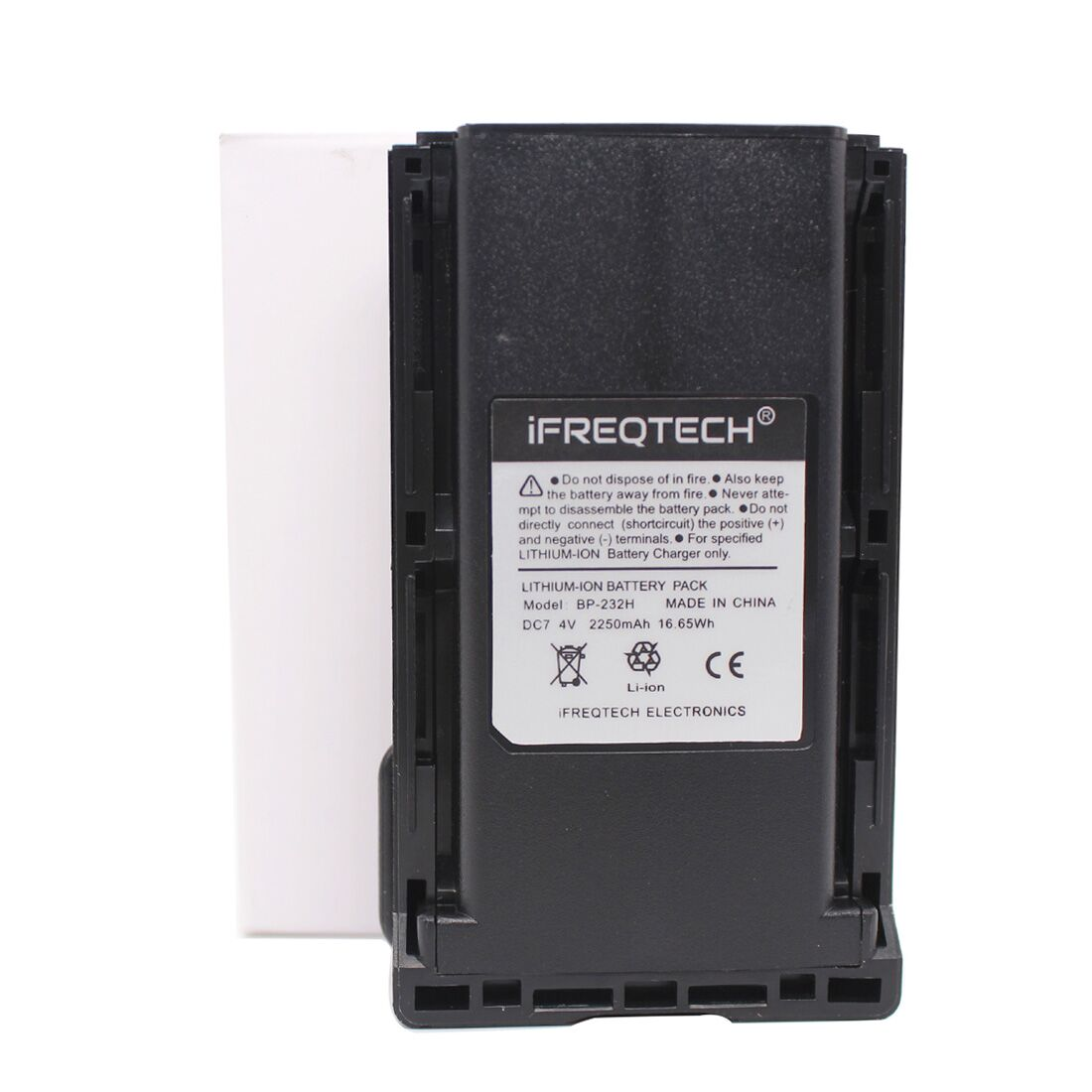 Аккумулятор для радиоприемника Icom, BP-232, 2250 мА/ч, BP-232H, A14, F14, F16, F24, F26, F33GS, F34G, IC-A14, F3011, IC-F4021, F4161DT/DS, T/S, F416