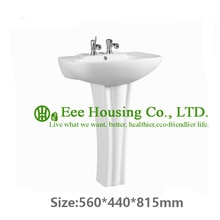 China sanitary ware bathroom new model wash baisn, india porcelain ware fancy wash basin pedestal basin