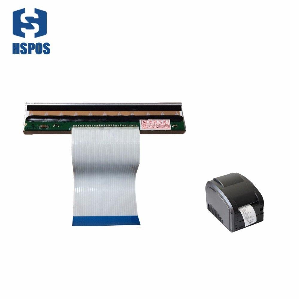 GP3120TL cabezal de impresora de código de barras autoadhesiva etiqueta sensible al calor máquina de código de barras Impresión de etiquetas para prendas de vestir cabeza soporta otros pedidos