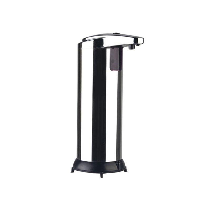 Dispensador de jabón automático de baño de 250 ml, venta al por mayor, dispensador de jabón líquido con Sensor táctil automático de cocina de acero inoxidable, Venta caliente