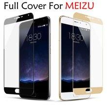 Закаленное стекло с полным покрытием для MEIZU M3S Mini M5 Note MX6, защитная пленка для Meizu M5S M5C M3 M6 Note Pro 6 7 15 16 16th 16X