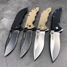 Terre 9054 12C27 lame poche couteau pliant en plein air camping voyage aventure Collection cadeau survie utilitaire EDC outil couteaux