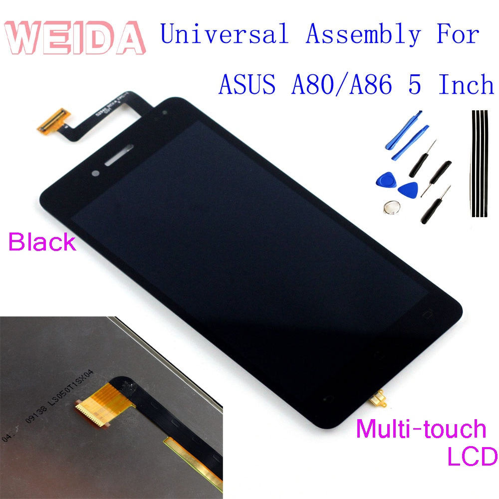 WeiDa-pantalla LCD para ASUS PadFone A86 A80, montaje Infinity, Digitalizador de pantalla...