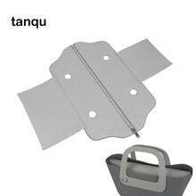 Tanqu cuir PU classique Mini fermeture éclair rue fausse doublure intérieure insérer pour Obag Standard Mini O sac femmes sac à main accessoire