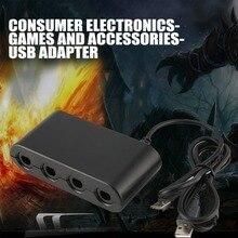 MAYFLASH 4 порта GameCube контроллер адаптер для переключения Wii-U и PC USB