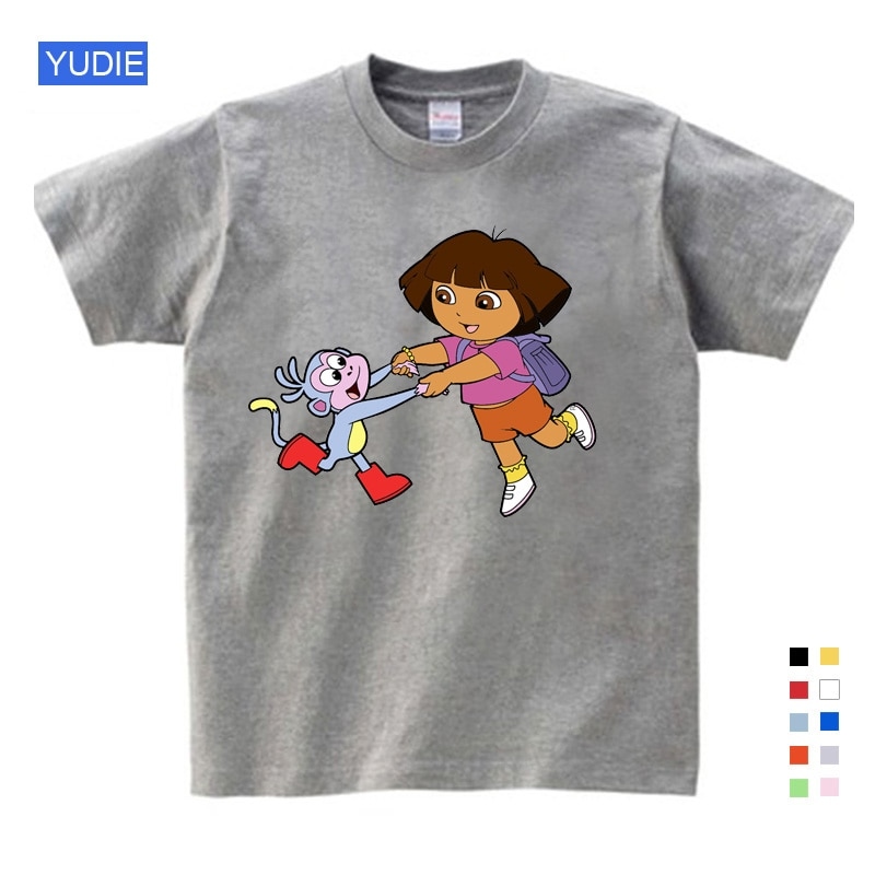 Baby Girls t shirt Boys Babies Children clothing Cotton Summer Clothes Funny T Shirts T Shirts Kids White Comfort Child T-shirts