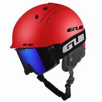 GUB 606 Multi-functional Skiing Helmet MTB Bike Bicycle Sports Cycling Helmet Safety Horse Riding Integrally-molded Helmet