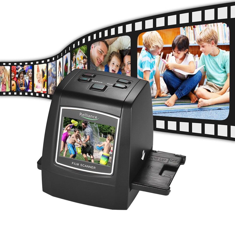 Высокое разрешение 14MP/22MP сканер пленки 2.4in TFT LCD преобразование 35 мм/135 мм пленка монохромная скользящая пленка отрицательная в цифровое изображение