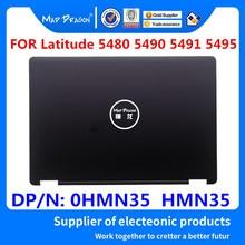 New original Laptop LCD Back Cover Rear Lid Top Case Black A shell For Dell Latitude 5480 5490 5491 5495 E5480 HMN35 0HMN35