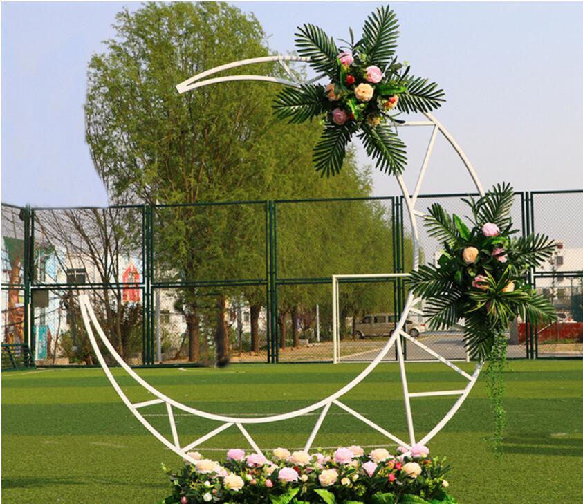 Свадебные декорации, луна АРКА, Свадебные Декорации для сцены, Sailor moon украшения, Лесной отдел, свадебная планировка