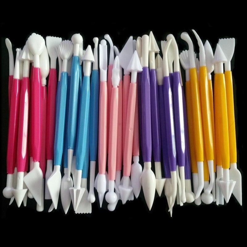 Сахарное ремесло, Fondant, для выпечки кондитерских изделий, резчик для шоколада, украшения цветов, глины, моделирования, набор инструментов для выпечки