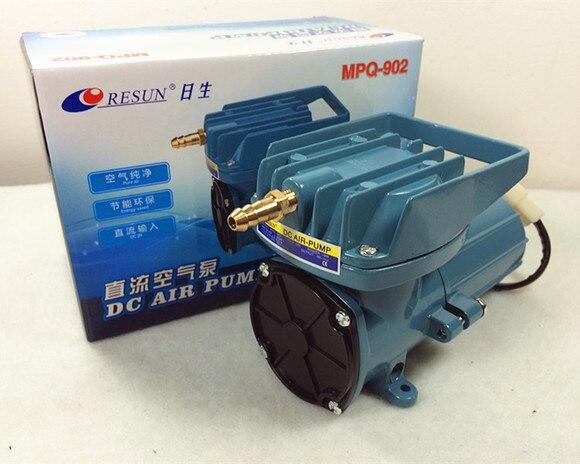 Resun MPQ-902 MPQ-903 dc bomba de compressor de ar 12 v pumf ar para aquário tanque de peixes