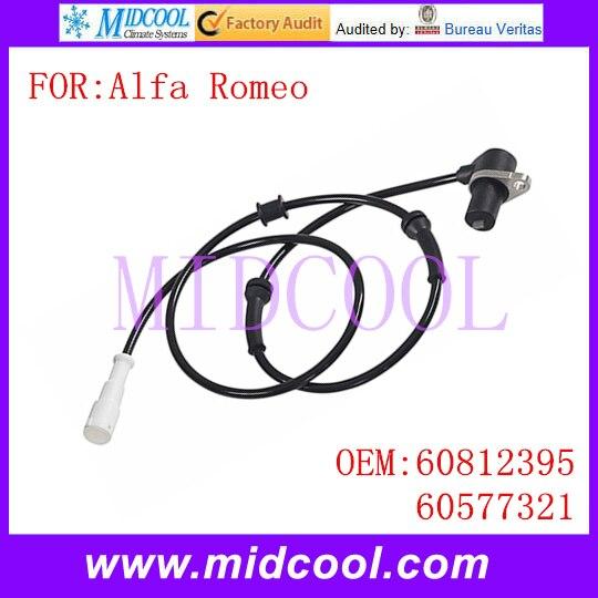 New Auto ABS Sensor Wheel Speed Sensor use OE No. 60812395 , 60577321 for Alfa Romeo