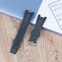 resin strap mens watch accessories for casio bracelet gst s130 s110 s100 w130l w100 w110 210 sports waterproof strap