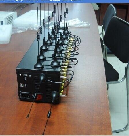 Famosa marca SIMCOM sim5320e módulo 3g 16 puerto módem piscina para SMS 900/2100 MHz