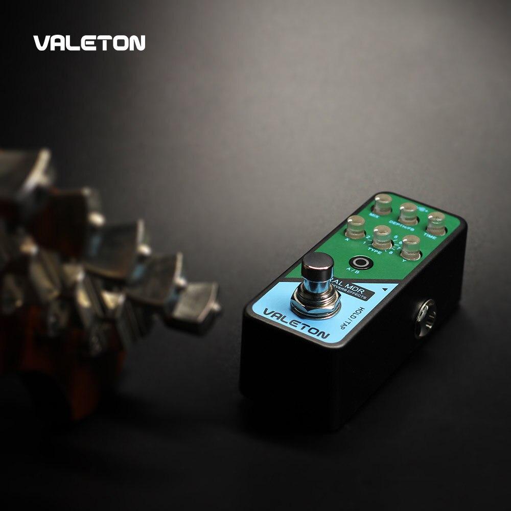 Valeton Multi Effects Guitar Pedal Coral MDR of Reverb Delay Chorus Phaser Vibrato Tremolo Flanger Digital Analog Delay enlarge