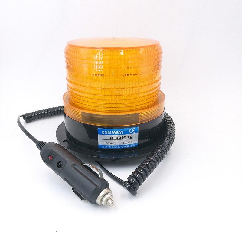 N-5095TD/TJD Индикатор Прокатки с прикуривателем сигнальный свет Светодиодная Вспышка маячок стробоскоп аварийная лампа 12В 24В 220В
