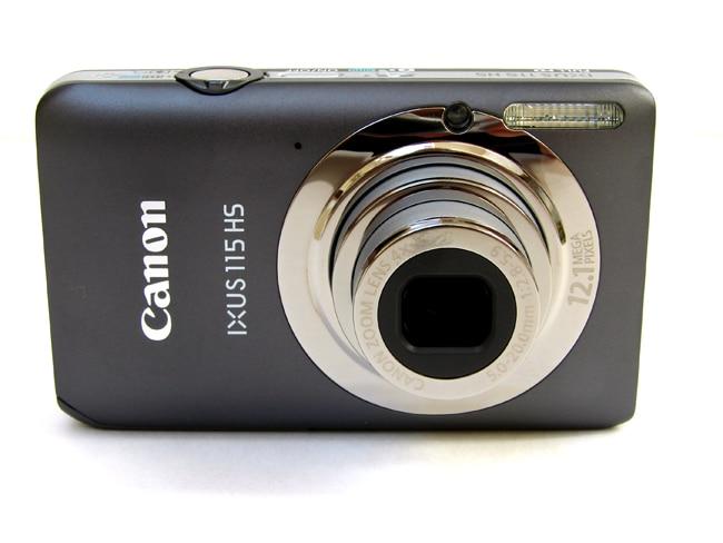 Usado, Canon 115 HS cámara Digital (12.1MP, 4x Zoom óptico) 3,0 pulgadas LCD
