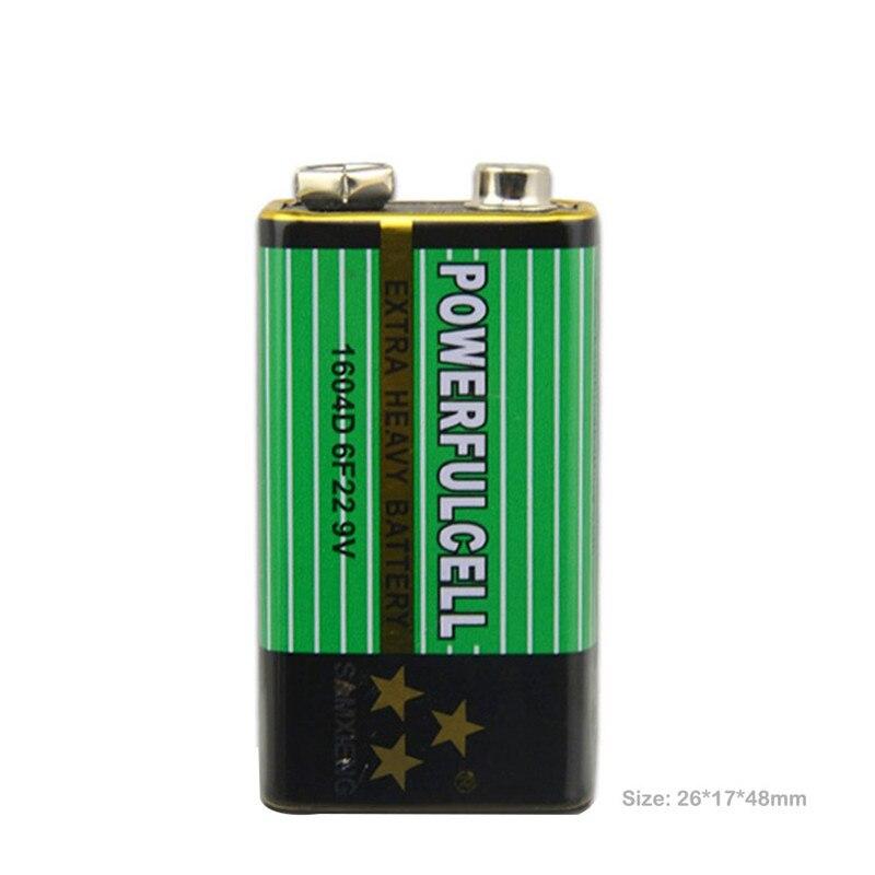 Nuevo 1x6F22 PPP3 6lr61 9V batería Súper pesado pilas secas no recargables para Radio, cámara, juguetes, etc