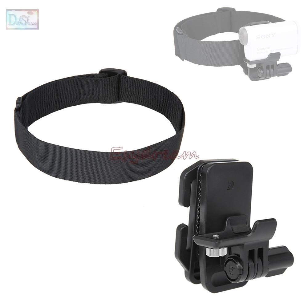 Clip gorro para la cabeza casco de montaje para Sony Action Cam...