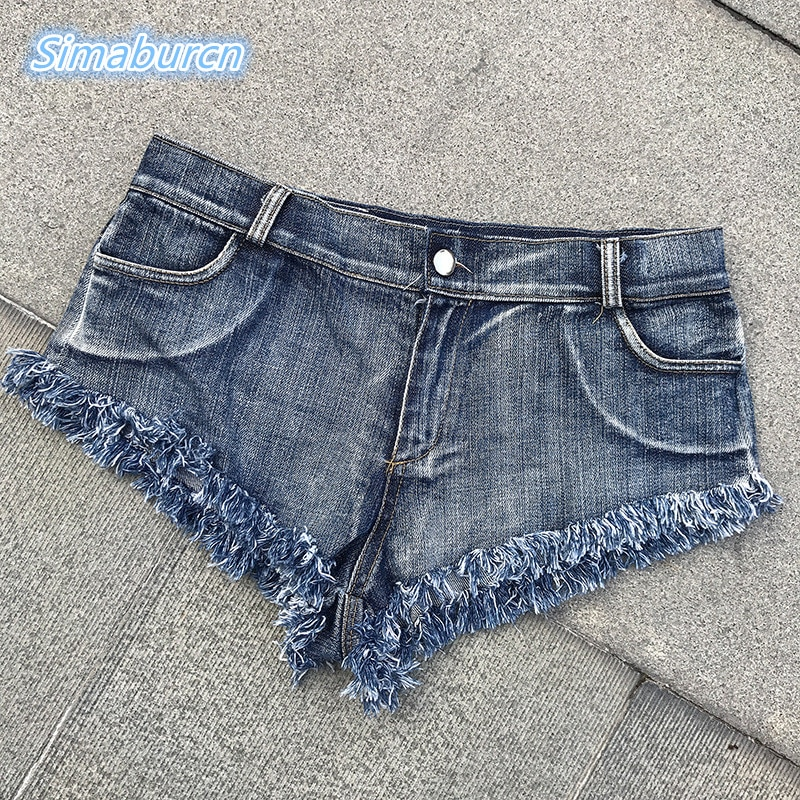 2018 Fashion Buttons Retro Middle Waist Club Shorts Feminino Denim Shorts For Women Skinny Side Sexy Beach Jeans Short Ladies middle waist skinny jeans