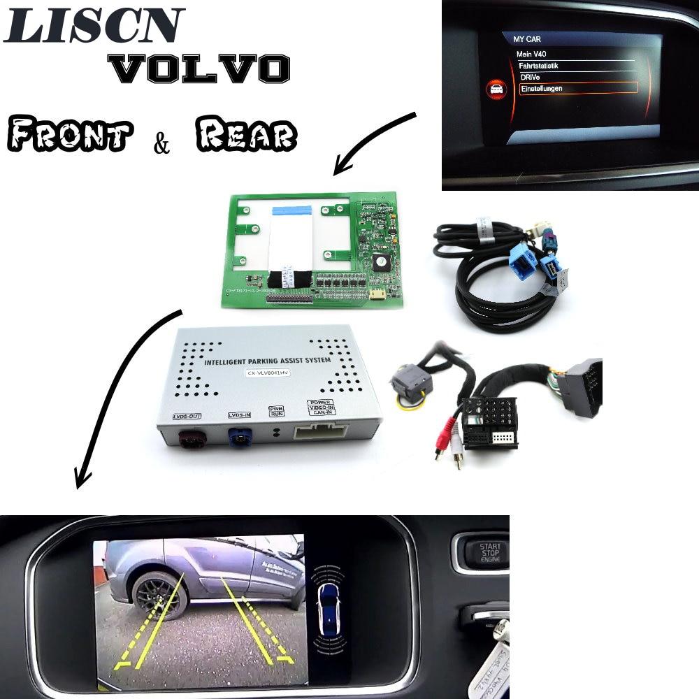 For Volvo Park Assist Pilot Front & Bakcup Rear camera interface Reverse camera Improve V40 V60 V90 XC60 XC90 S60 S80 S90