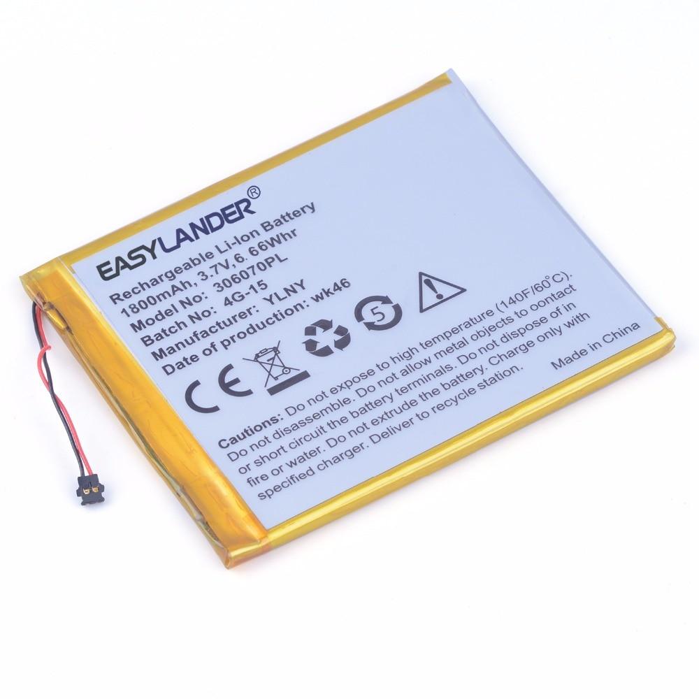 306070pl 3.7 v 1800 mah recarregável li-polímero li-ion bateria para gps tablet pc bolso 4g-15/4k-19 e-book 306070
