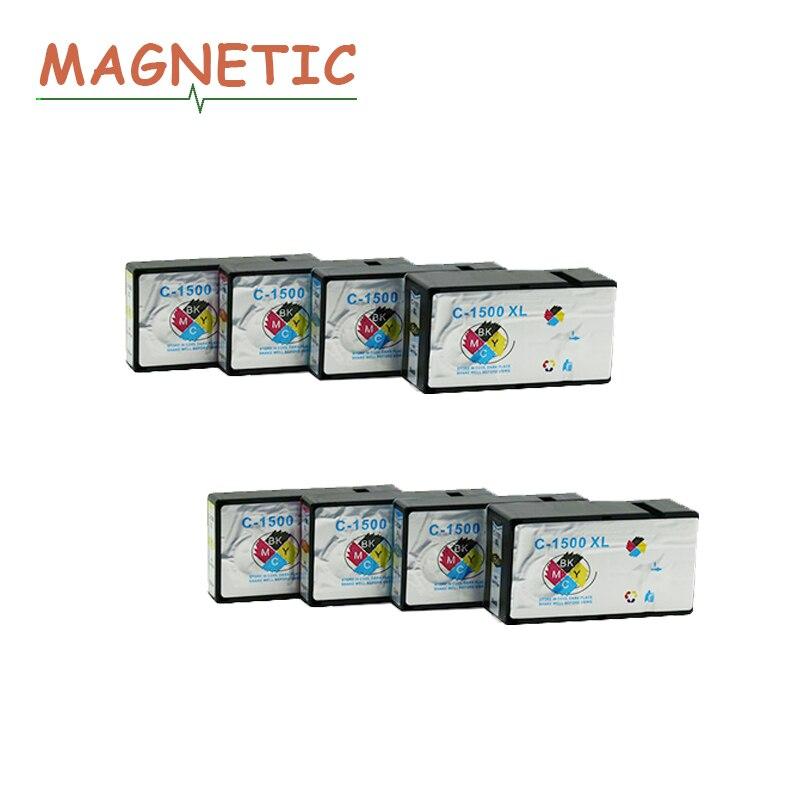 Струйный принтер 8 шт 1500 совместимый чернильный картридж PGI 1500 XL для Canon MAXIFY MB2050/MB2350 PGI-1500 PGi1500