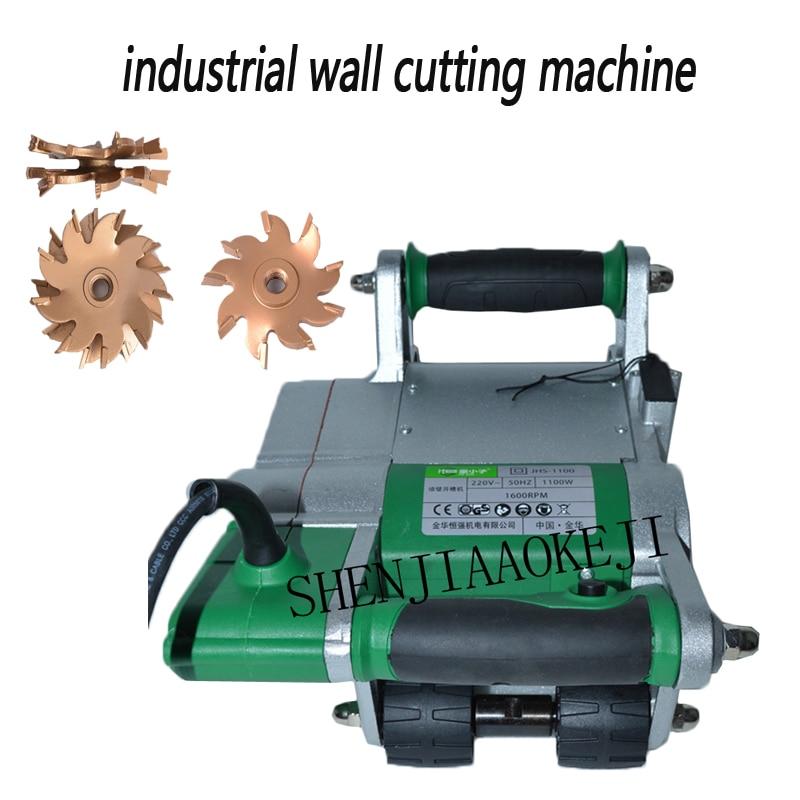 1 قطعة 1100 واط الصناعية الجدار المطارد آلة 25/35 مللي متر جدار الأخدود قطع الشق آلة 220V جدار خط الشق آلة