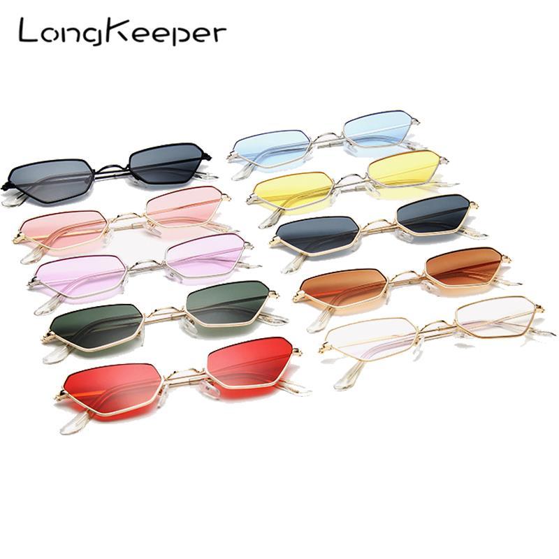 Women Small Cat Eye Sunglasses Ladies Retro Vintage Metal Frame Sun Glasses Female Ocean Lens Candy Colors Eyewear Gafas UV400