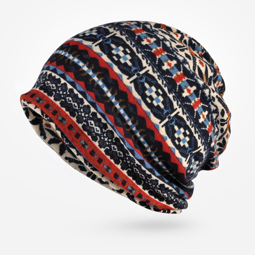 Collar hats double men and women general elastic cotton wool warm sets 0249