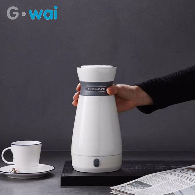 110-220V Portable No Handle Automatic Power Off Heating Cup Small Home Electric Kettle Travel Insulation Pot Mini Smart Teapot