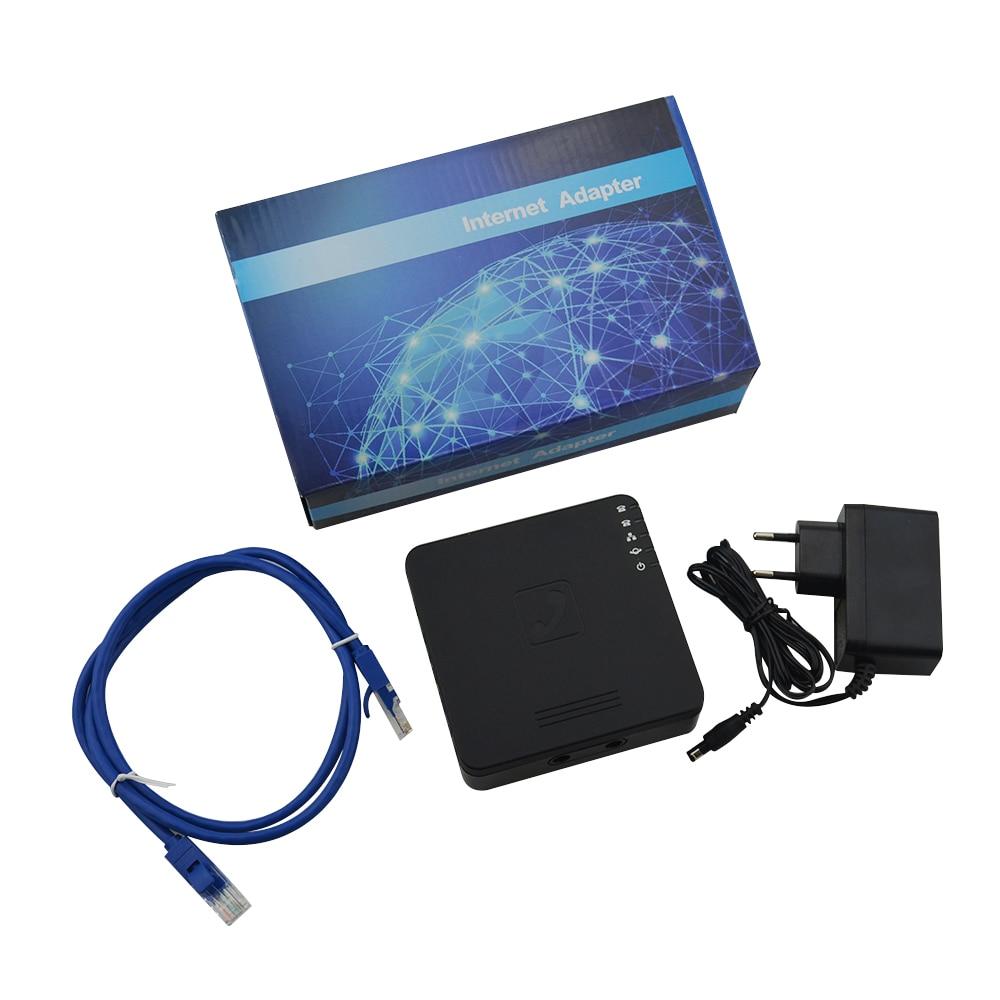Enrutador Voip GT202N, adaptador Voip, enrutador ATA, 2 puertos, FAX, Gtalk, SIP,...