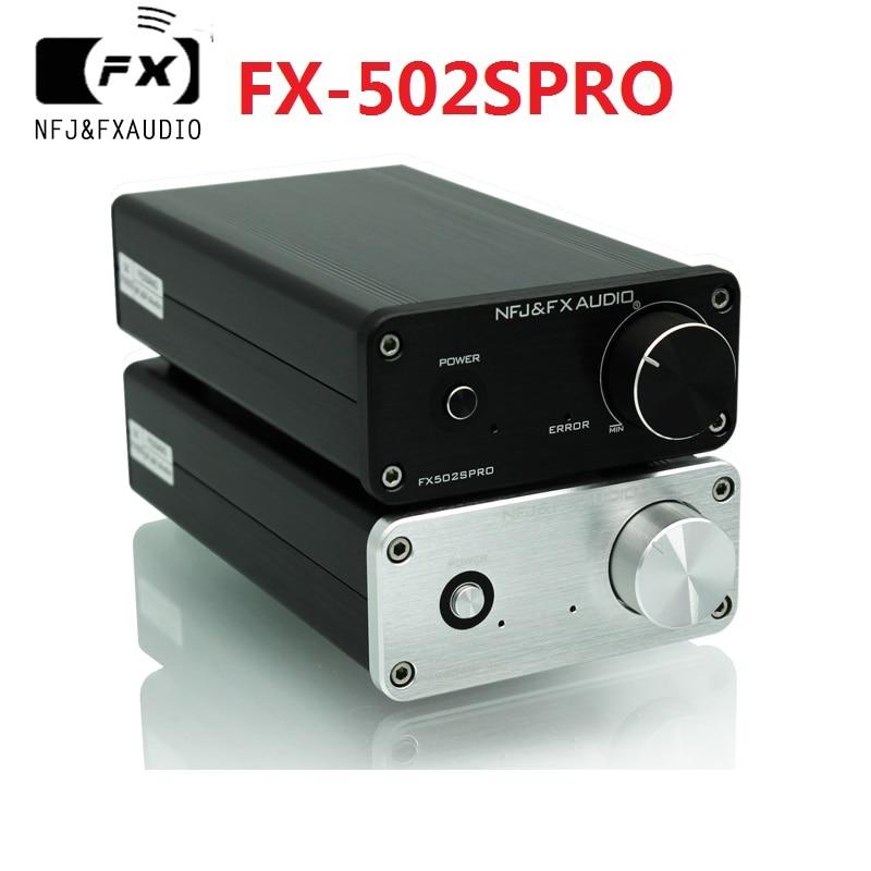 2020 FX-Audio جديد FX-502SPRO HiFi 2.0 كامل مضخم الصوت الرقمي اعتماد TPA3250 الطاقة 70 واط * 2 DC24V/4A محول الطاقة اختياري