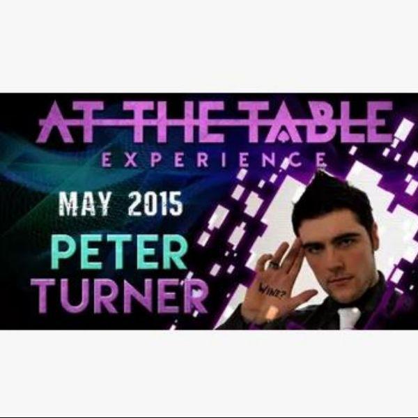 На столе, лекция в прямом эфире, магические трюки Питера Тернера