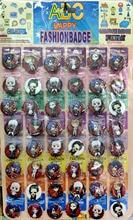 Amour merci Tokyo Ghoul mignon 30MM 48 pièces lot PINBACK BADGE bouton broche sac cadeau jouet tissu anime