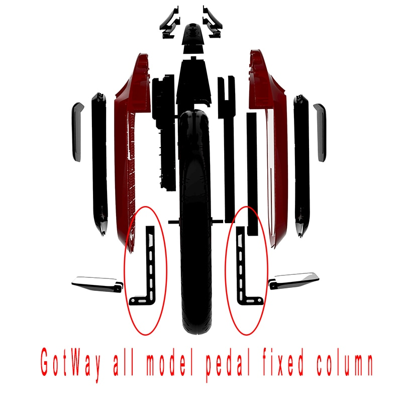 GotWay-دراجة أحادية كهربائية أصلية ، دراجة أحادية كهربائية ، أذرع محرك ، قطع غيار EUC