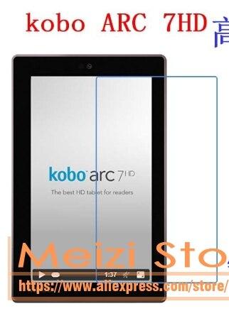 Película protetora clara alta da etiqueta do protetor da tela para o arco de kobo 7hd ereader 7 polegadas