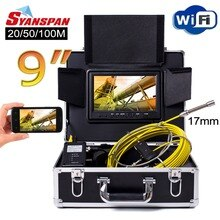 SYANSPAN-caméra vidéo dinspection de tuyaux WiFi   9