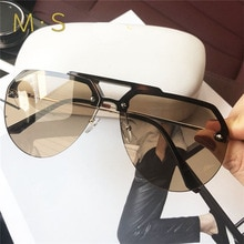 MS-lunettes de soleil décoratives de luxe   Pour femmes, classiques, marque originale, de styliste, lunettes de soleil à la mode UV400, 2019