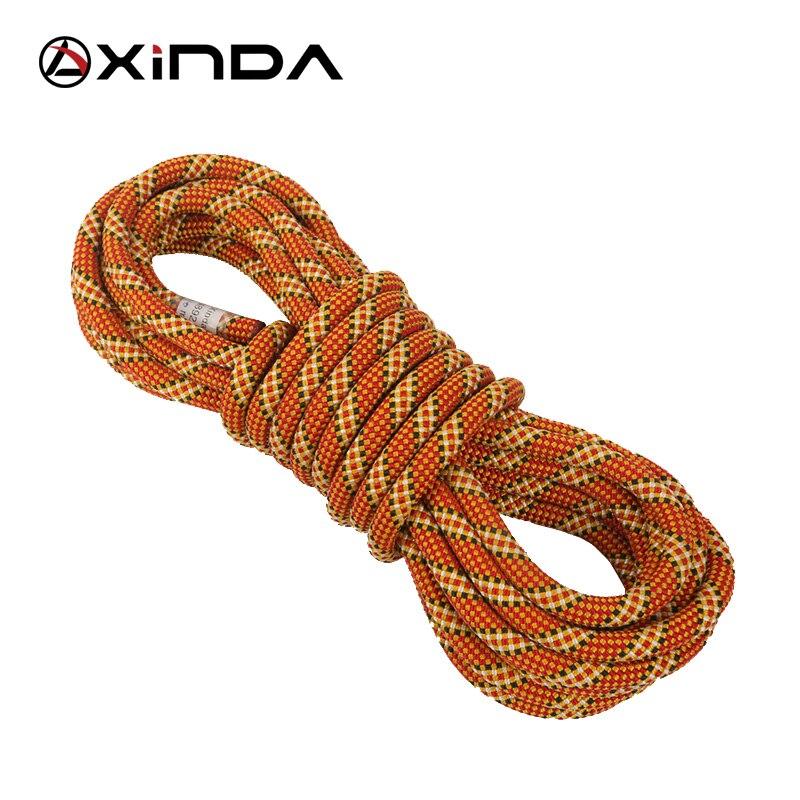 Трос XINDA для скалолазания, динамический трос, для активного отдыха, походов, 9,8 мм, 10,5 мм, диаметр, мощный шнур, Безопасный шнур для выживания