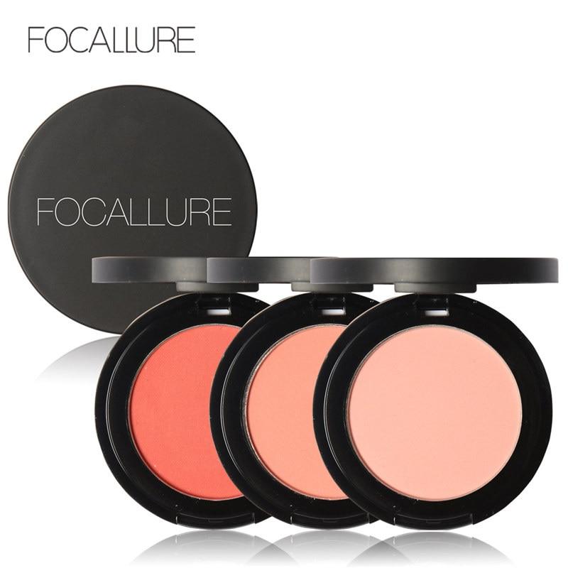 FOCALLURE 11 Colors Face Mineral Pigment Blusher Powder Brozer Cosmestics Professional Palette Blush Contour Shadow