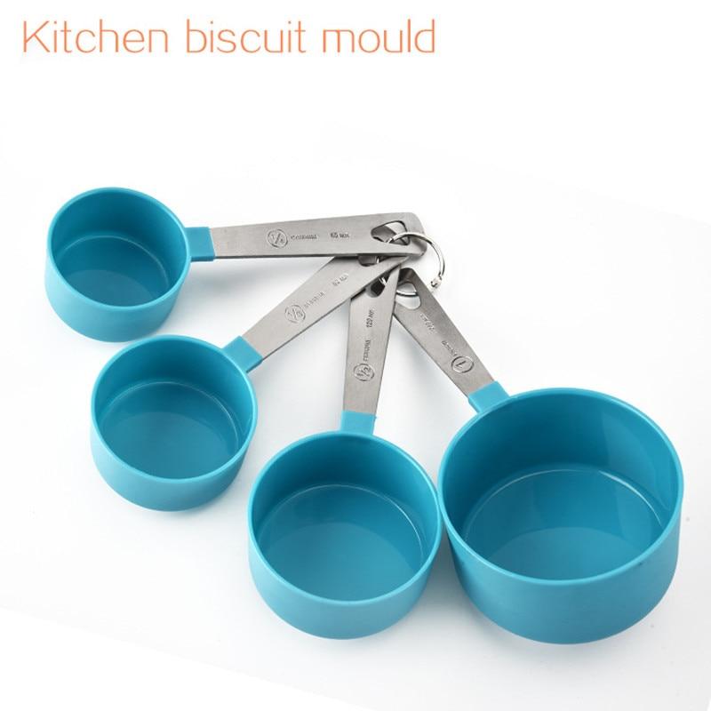Складной мерный стаканчик из нержавеющей стали, набор ложек для выпекания, набор инструментов для приготовления пищи