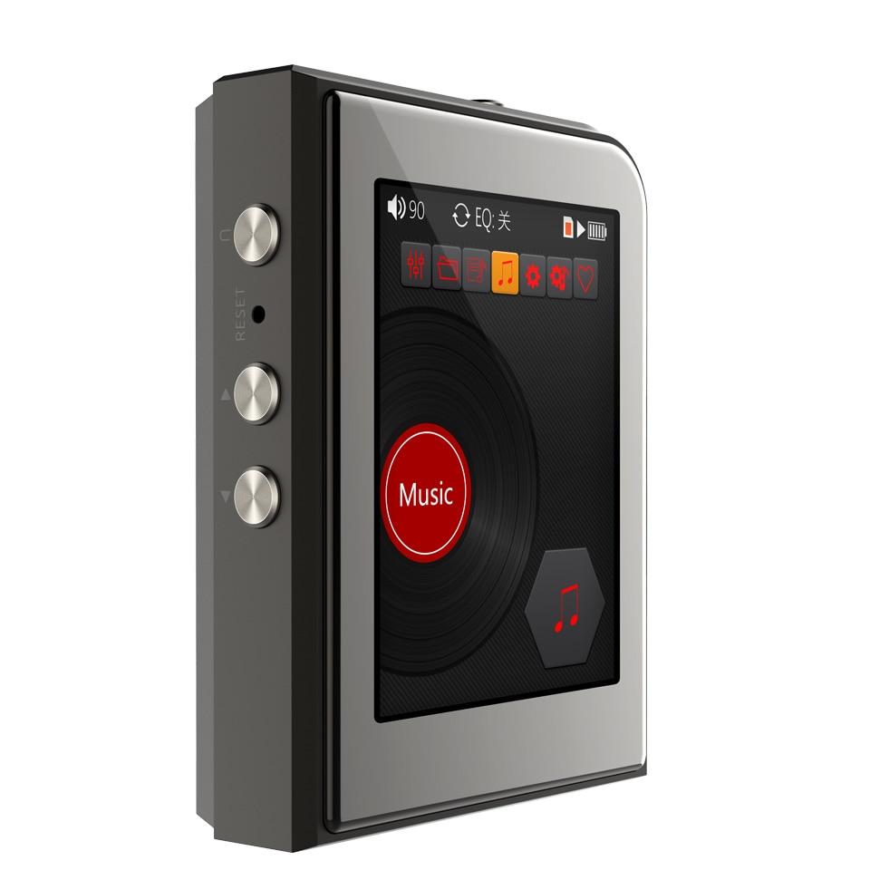 2019 Original RUIZU A50 HD Hard Lossless DSD256 Mini Sport MP3 Player With 2.5 Inch Screen Hifi Music Support 128G TF Card