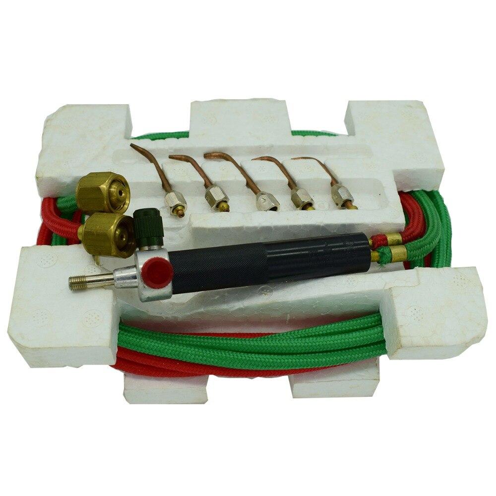Smith Little Torch oxígeno acetileno antorcha soldadura con 5 puntas herramientas de soldadura