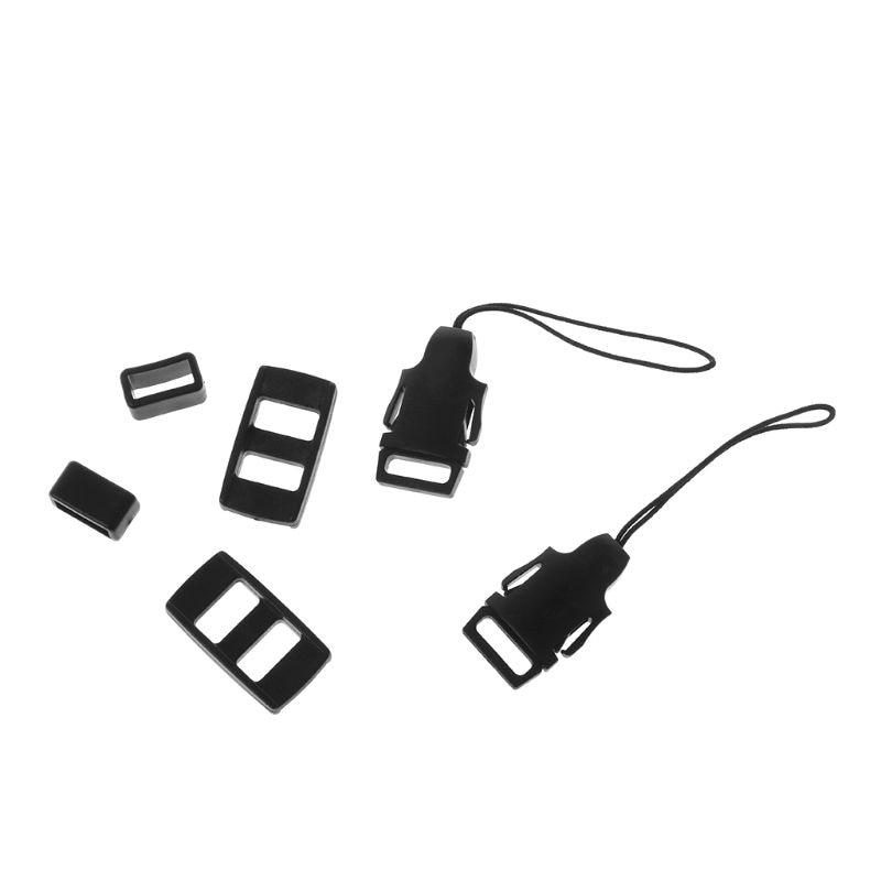 2Sets Camera Strap Adapter Neck Shoulder Rope Partner Clip Connector for Canon EOS Nikon Sony Panasonic Digital Micro Cameras