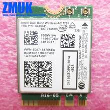 Intel Dual Band Wireless-AC 7260 WiFi+BT4.0 Combo Card For Lenovo ThinkPad Yoga 14 (MT 20DM, 20DN) Series,P/N 04X6041
