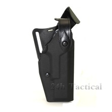 Accesorios tácticos Glock cinturón cintura funda para pistola Glock 17 19 mano derecha Aire Libre Airsoft pistola paleta funda para de caza
