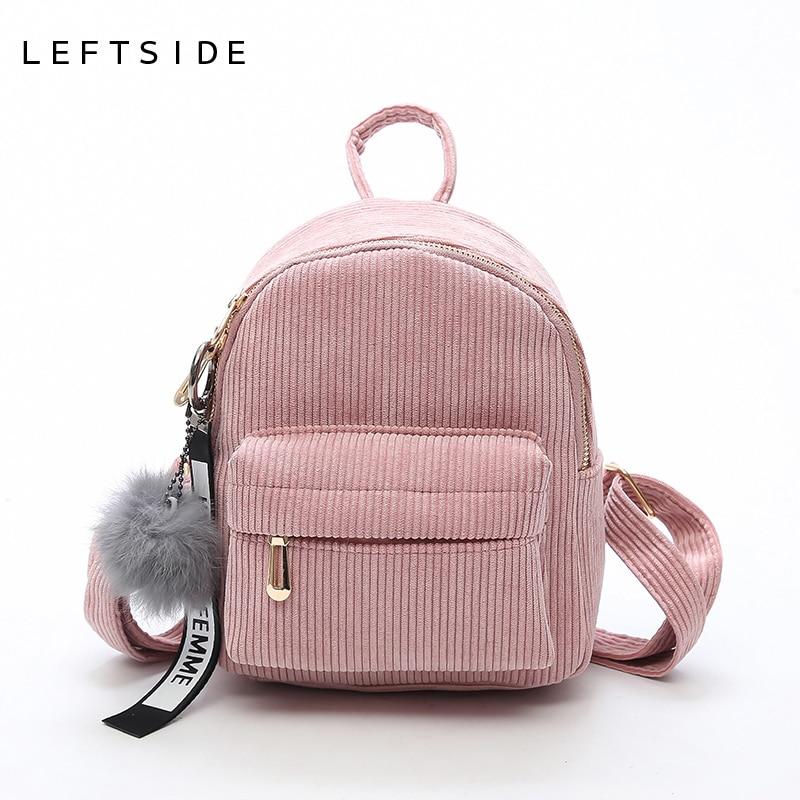 Leftside mulheres 2018 bonito mochila para adolescentes crianças mini pacote de volta kawaii meninas crianças pequenas mochilas femininas packbags
